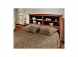 Bordeaux Bookcase Headboard Brown Cherry - Largo - LARGO-ST-B4300-59H