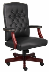 Boss Classic Chair in Black - B905-BK