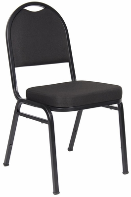 Boss Crepe Banquet Chair in Black - B1500-BK-4