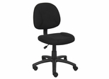 Boss Deluxe Posture Chair in Black - B315-BK