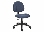 Boss Deluxe Posture Chair in Blue - B315-BE