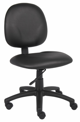 Boss Diamond Task Chair In Black - B9090-CS