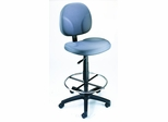 Boss Drafting Chair in Grey - B1690-GY