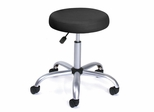 Boss Drafting Stool in Black - B-240