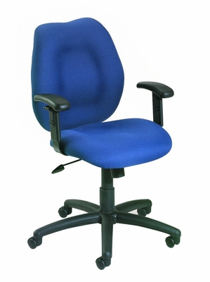 Boss Ergonomic Office Chair in Blue - B1014-BE