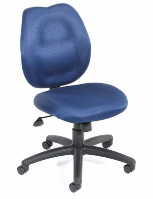 Boss Ergonomic Office Chair in Blue - B1016-BE