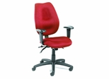 Boss Ergonomic Office Chair in Burgundy - B-1002-BY