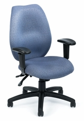 Boss Ergonomic Office Chair in Grey - B-1002-GY