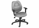Boss Ergonomic Office Chair in Grey - B1014-GY