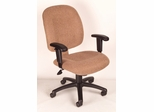Boss Ergonomic Task Chair in Chestnut - B495-CH