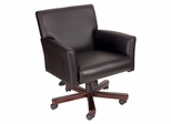 Boss Executive Box Arm Chair in Black - B616