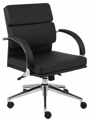 Boss Executive Chair in Black - B9406-BK
