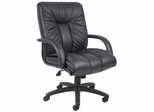 Boss Executive Chair in Italian Leather - B9307