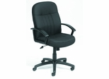Boss Fabric Office Chair in Black - B8306-BK