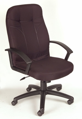Boss Fabric Office Chair in Black - B8801-BK