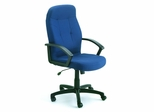 Boss Fabric Office Chair in Blue - B8801-BE