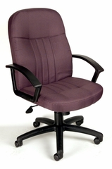 Boss Fabric Office Chair in Grey - B8306-GY