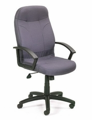 Boss Fabric Office Chair in Grey- B8801-GY