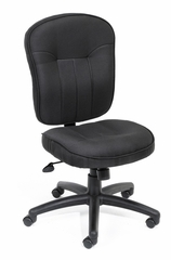 Boss Fabric Task Chair in Black - B1570-BK