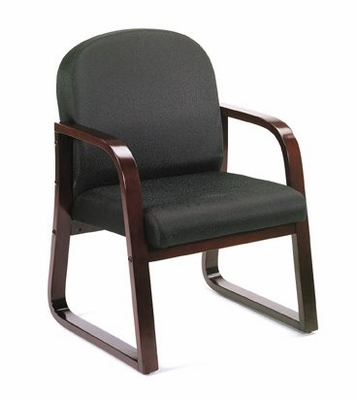 Boss Guest or Visitor Chair in Black - B9570-BK