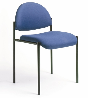 Boss Guest or Visitor Chair in Blue - B9505-BE