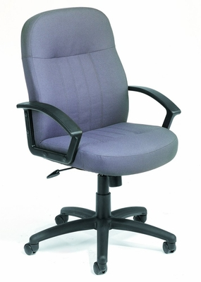 Boss Guest or Visitor Chair in Grey - B8309-GY