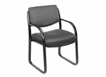 Boss Guest or Visitor Chair in Grey - B9521-GY