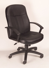 Boss Leather Office Chair - B-8106