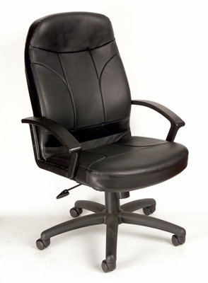Boss Leather Office Chair - B-8401