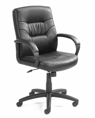 Boss Leather Office Chair - B7506