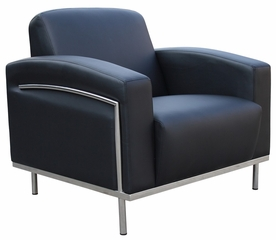 Boss Lounge Chair in Black - BR99001-BK