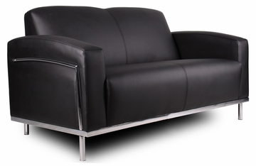 Boss Love Seat in Black - BR99002-BK