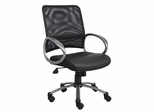 Boss Mesh Back Task Chair in Black - B6406
