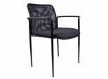 Boss Mesh Guest Chair in Black - B6909-BK