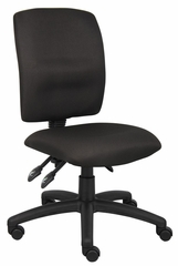 Boss Multi-Function Fabric Task Chair in Black - B3035-BK