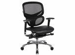 Boss Multi-Function Mesh Chair in Black - B6777-BK