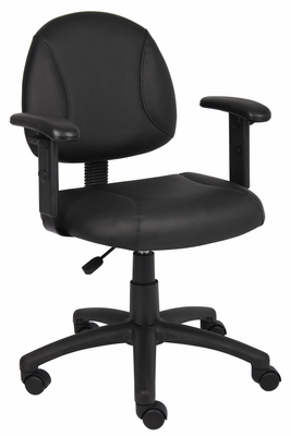 Boss Posture Chair in Black - B306