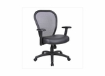 Boss Professional Managers Mesh Chair in Black - B6808
