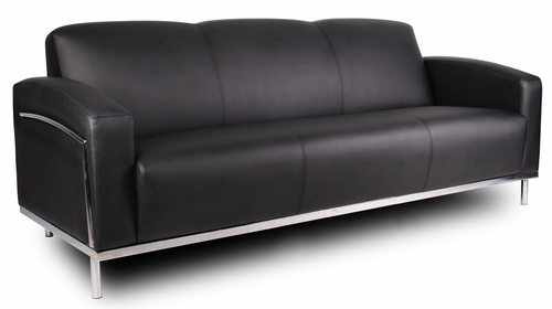 Boss Sofa in Black - BR99003-BK