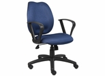 Boss Task Chair in Blue - B1015-BE