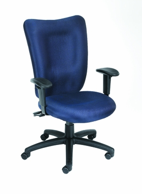 Boss Task Chair in Blue - B2007-BE