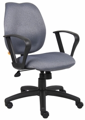 Boss Task Chair in Gray - B1015-GY