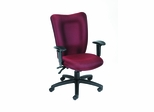 Boss Task Chair with Seat Slider in Burgundy - B2007-SS-BY