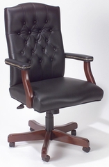 Boss Traditional Executive Swivel Chair in Black - B915-BK