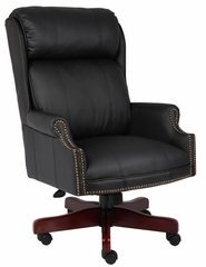 Boss Traditional High Back Chair - B980-CP