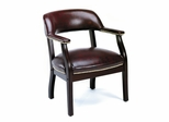 Boss Traditional Office Chair in Oxblood - B9540-BY