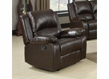Boston Brown Recliner - 600973
