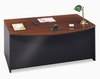 Bow Front Desk - Series C Hansen Cherry Collection - Bush Office Furniture - WC24446