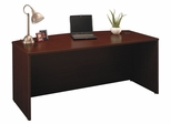 Bow Front Desk - Series C Mahogany Collection - Bush Office Furniture - WC36746