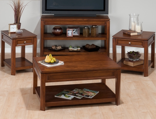 Bowie Birch 4PC Accent Table Set - 849-1